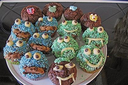 Krümelmonster-Muffins 93