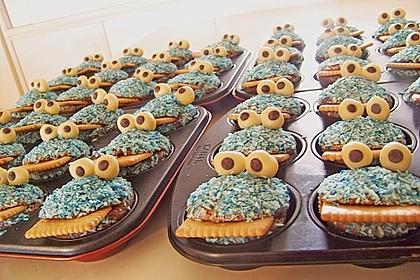 Krümelmonster-Muffins 124