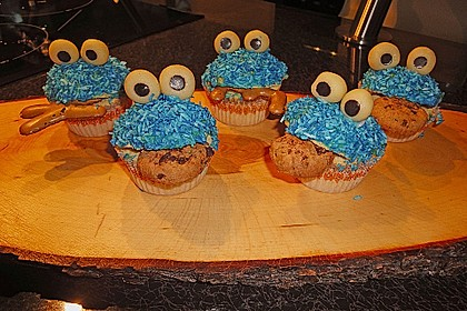 Krümelmonster-Muffins 150