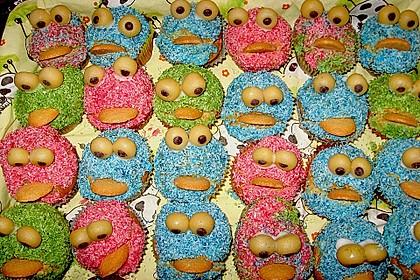 Krümelmonster-Muffins 160