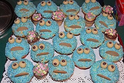 Krümelmonster-Muffins 167