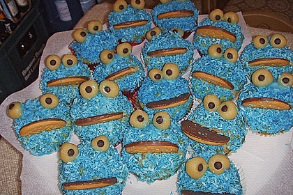 Krümelmonster-Muffins 99