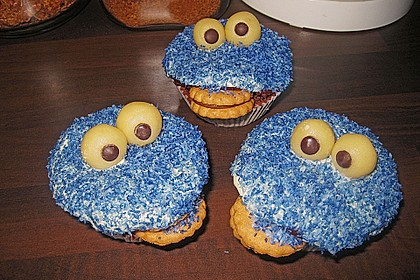 Krümelmonster-Muffins 259