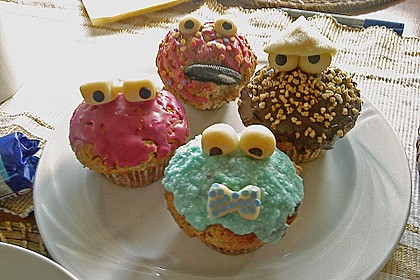 Krümelmonster-Muffins 175