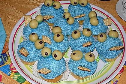 Krümelmonster-Muffins 82