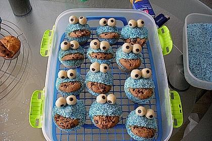 Krümelmonster-Muffins 257