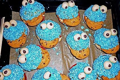 Krümelmonster-Muffins 133