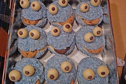 Krümelmonster-Muffins 395