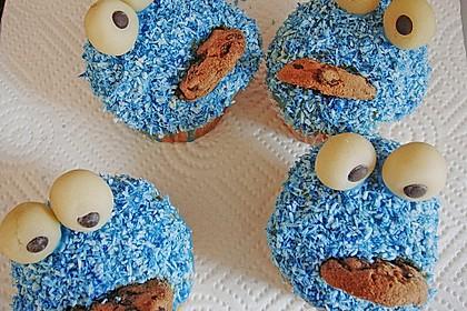 Krümelmonster-Muffins 137