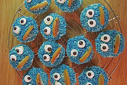 Krümelmonster-Muffins 80
