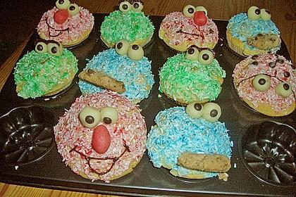 Krümelmonster-Muffins 182