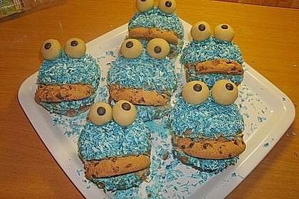 Krümelmonster-Muffins 333