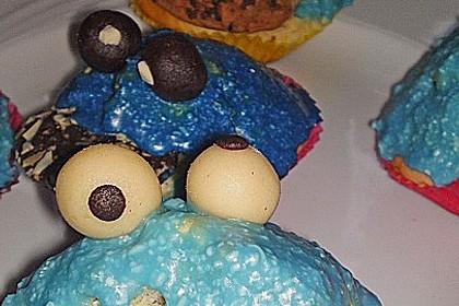 Krümelmonster-Muffins 417