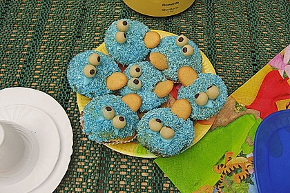 Krümelmonster-Muffins 108