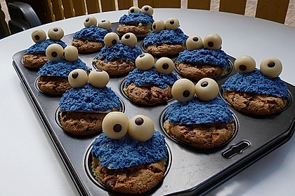 Krümelmonster-Muffins 59