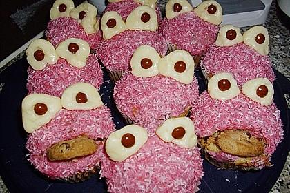 Krümelmonster-Muffins 57