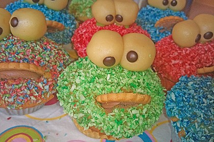 Krümelmonster-Muffins 180
