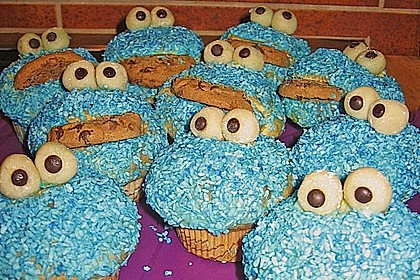 Krümelmonster-Muffins 186