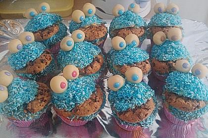 Krümelmonster-Muffins 192