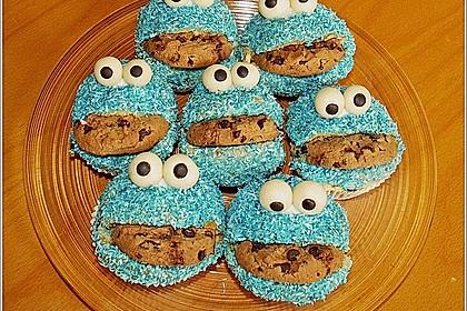 Krümelmonster-Muffins 17