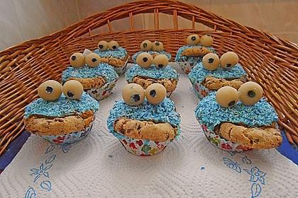 Krümelmonster-Muffins 335