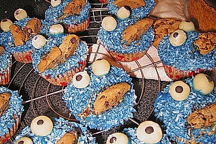 Krümelmonster-Muffins 418