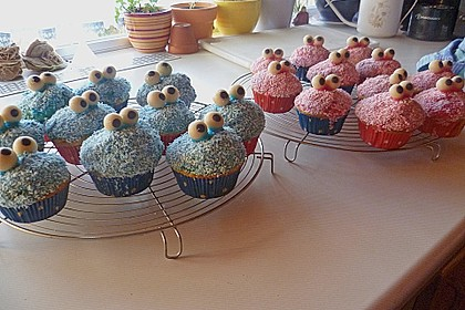 Krümelmonster-Muffins 130