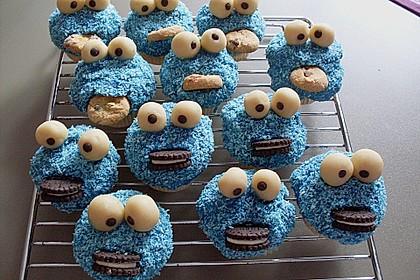 Krümelmonster-Muffins 30