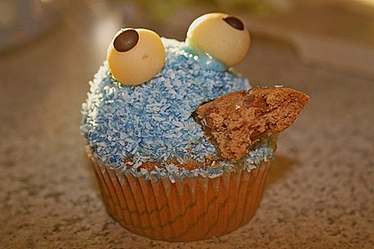 Krümelmonster-Muffins 143