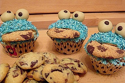 Krümelmonster-Muffins 63