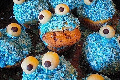 Krümelmonster-Muffins 230