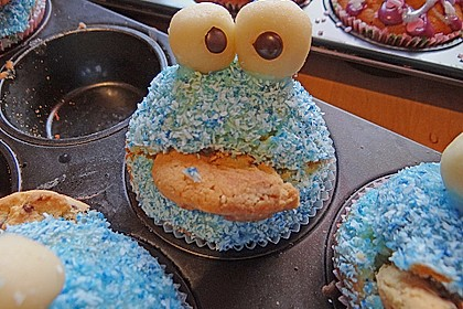 Krümelmonster-Muffins 420