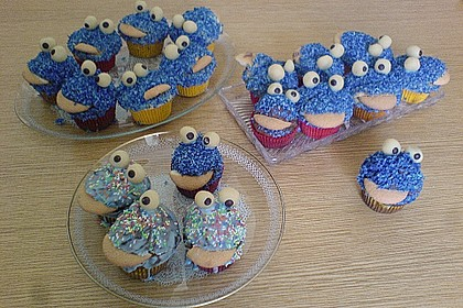 Krümelmonster-Muffins 233