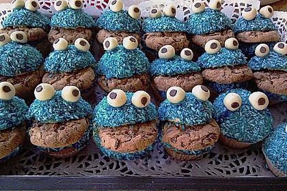 Krümelmonster-Muffins 363