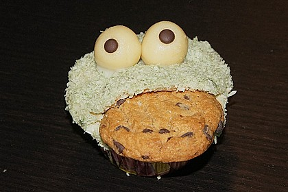 Krümelmonster-Muffins 203