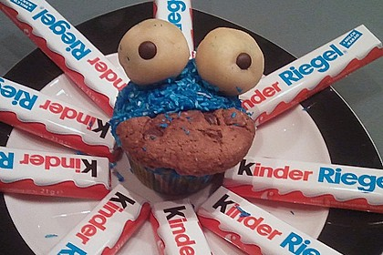 Krümelmonster-Muffins 249