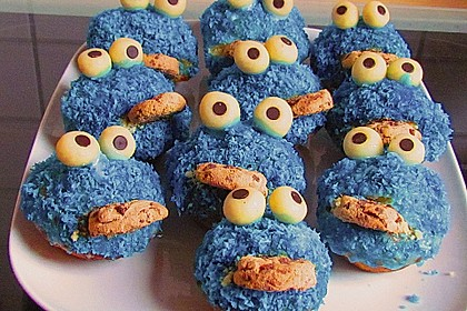 Krümelmonster-Muffins 41