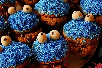 Krümelmonster-Muffins 217