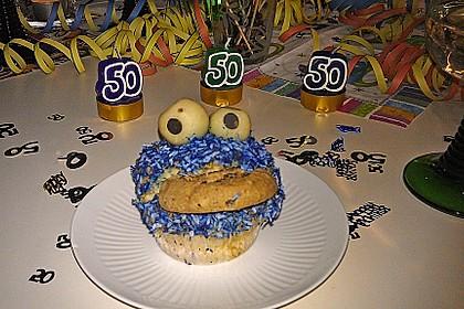 Krümelmonster-Muffins 381