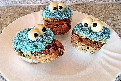 Krümelmonster-Muffins 357