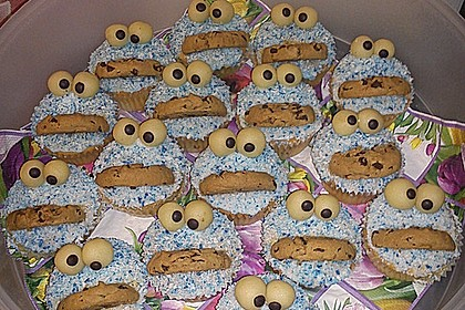 Krümelmonster-Muffins 42