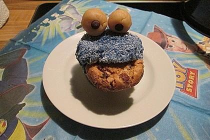 Krümelmonster-Muffins 428