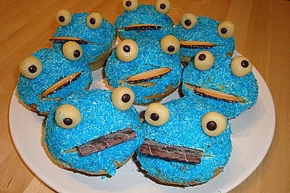 Krümelmonster-Muffins 145