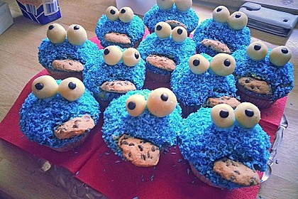 Krümelmonster-Muffins 45
