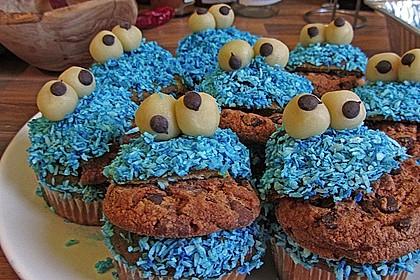 Krümelmonster-Muffins 354