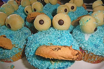 Krümelmonster-Muffins 144
