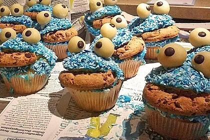 Krümelmonster-Muffins 285
