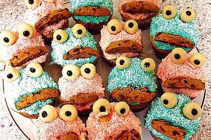 Krümelmonster-Muffins 278