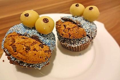 Krümelmonster-Muffins 283