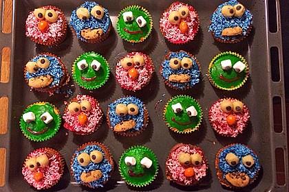Krümelmonster-Muffins 78